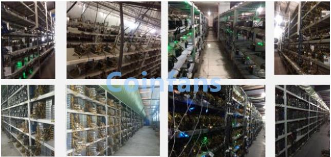 Coinfans Cloud hashrate leads the digital mining Bitcoin bull market feast bi-fans.com