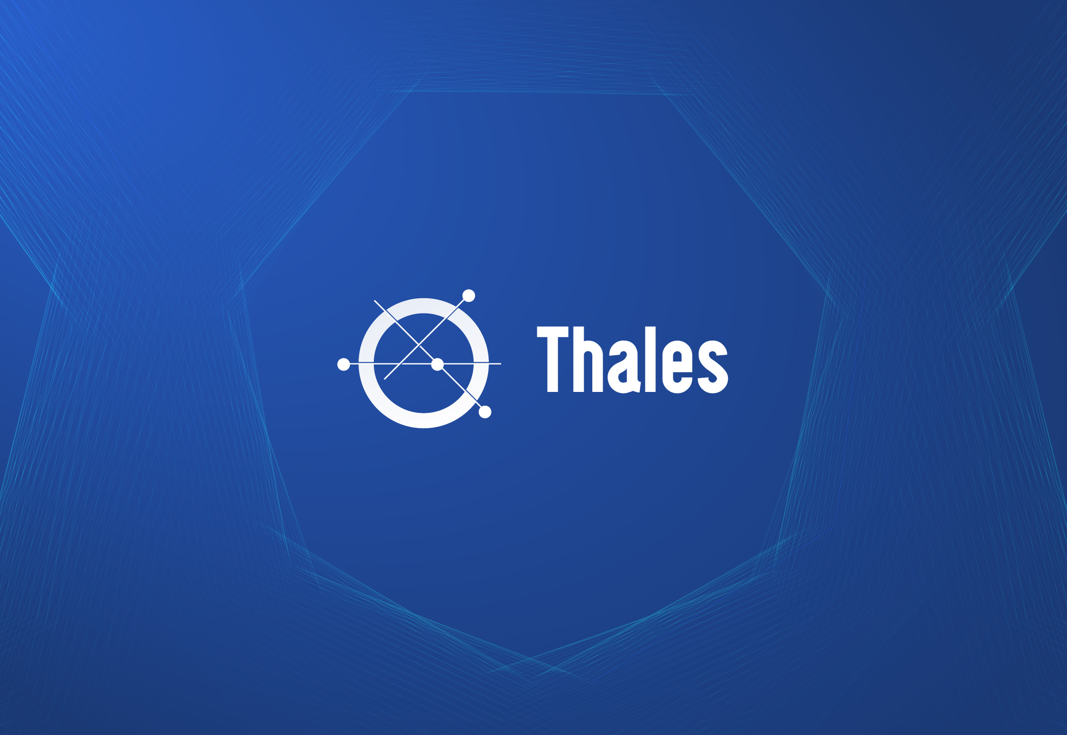 Thales: We're building a whole new economic system